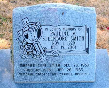 SMITH, PAULINE M - Carroll County, Arkansas | PAULINE M SMITH - Arkansas Gravestone Photos