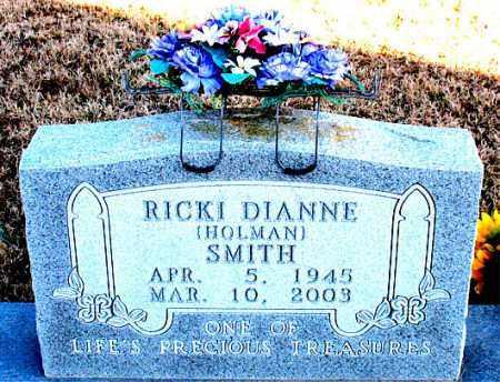 HOLMAN SMITH, RICKI  DIANNE - Carroll County, Arkansas | RICKI  DIANNE HOLMAN SMITH - Arkansas Gravestone Photos
