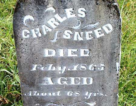 SNEED, CHARLES - Carroll County, Arkansas | CHARLES SNEED - Arkansas Gravestone Photos