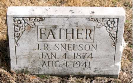 SNELSON, J.R. - Carroll County, Arkansas | J.R. SNELSON - Arkansas Gravestone Photos