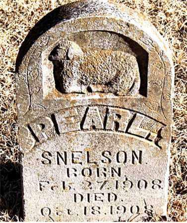 SNELSON, PEARL - Carroll County, Arkansas | PEARL SNELSON - Arkansas Gravestone Photos