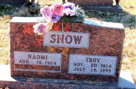 SNOW, TROY - Carroll County, Arkansas   TROY SNOW - Arkansas Gravestone Photos