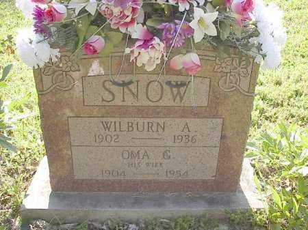 SNOW, WILBURN A. - Carroll County, Arkansas   WILBURN A. SNOW - Arkansas Gravestone Photos