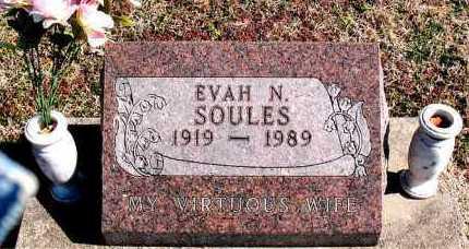 SOULES, EVAN N - Carroll County, Arkansas | EVAN N SOULES - Arkansas Gravestone Photos