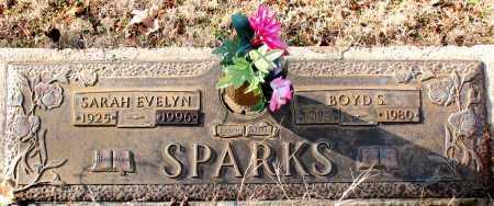 SPARKS, BOYD S. - Carroll County, Arkansas | BOYD S. SPARKS - Arkansas Gravestone Photos