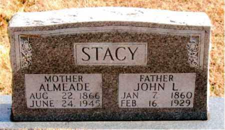 STACY, JOHN L. - Carroll County, Arkansas   JOHN L. STACY - Arkansas Gravestone Photos