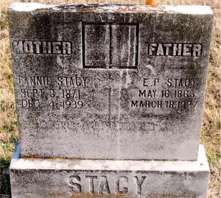 STACY, E.P. - Carroll County, Arkansas | E.P. STACY - Arkansas Gravestone Photos