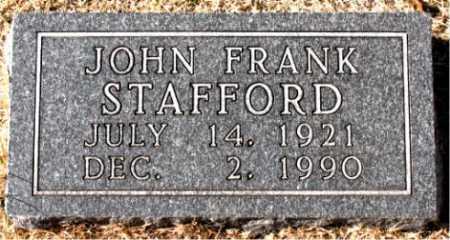 STAFFORD, JOHN FRANK - Carroll County, Arkansas | JOHN FRANK STAFFORD - Arkansas Gravestone Photos