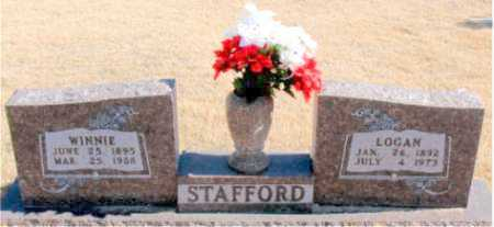 STAFFORD, WINNIE - Carroll County, Arkansas | WINNIE STAFFORD - Arkansas Gravestone Photos