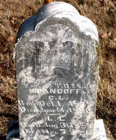 STANCOFF, C.L. - Carroll County, Arkansas | C.L. STANCOFF - Arkansas Gravestone Photos