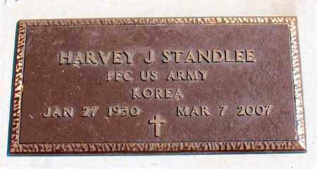 STANDLEE (VETERAN KOR), HARVEY J. - Carroll County, Arkansas   HARVEY J. STANDLEE (VETERAN KOR) - Arkansas Gravestone Photos