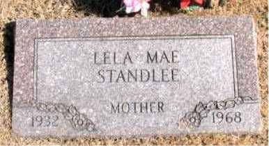 STANDLEE, LELA  MAE - Carroll County, Arkansas | LELA  MAE STANDLEE - Arkansas Gravestone Photos