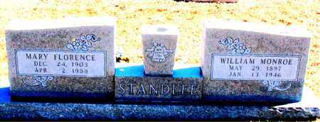 STANDLEE, MARY FLORENCE - Carroll County, Arkansas | MARY FLORENCE STANDLEE - Arkansas Gravestone Photos