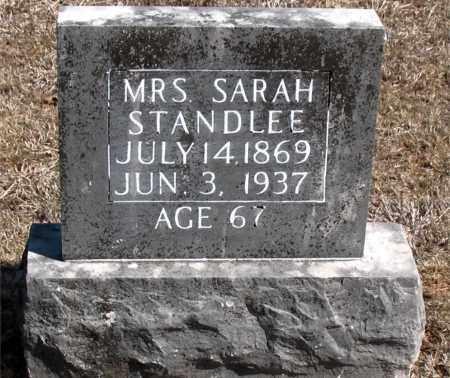 STANDLEE, SARAH - Carroll County, Arkansas | SARAH STANDLEE - Arkansas Gravestone Photos