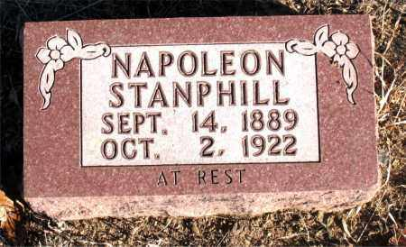 STANPHILL, NAPOLEON - Carroll County, Arkansas | NAPOLEON STANPHILL - Arkansas Gravestone Photos