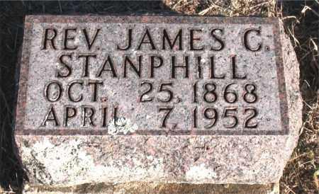 STANPHILL, REV., JAMES C. - Carroll County, Arkansas   JAMES C. STANPHILL, REV. - Arkansas Gravestone Photos