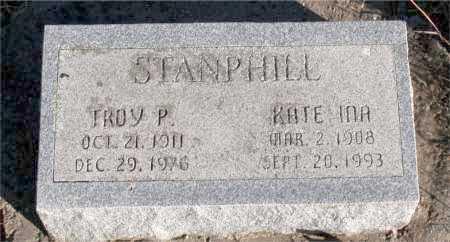 STANPHILL, KATE INA - Carroll County, Arkansas | KATE INA STANPHILL - Arkansas Gravestone Photos
