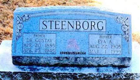 STEENBORG, EVA A - Carroll County, Arkansas | EVA A STEENBORG - Arkansas Gravestone Photos