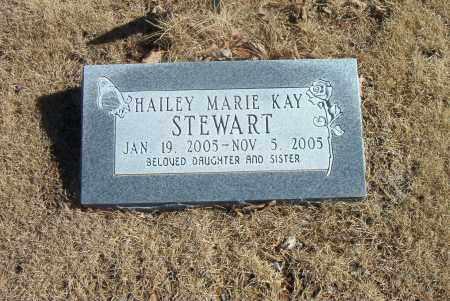 STEWART, HAILEY  MARIE  KAY - Carroll County, Arkansas | HAILEY  MARIE  KAY STEWART - Arkansas Gravestone Photos