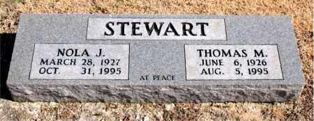 STEWART, THOMAS  M. - Carroll County, Arkansas | THOMAS  M. STEWART - Arkansas Gravestone Photos