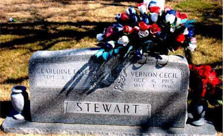 STEWART, VERNON CECIL - Carroll County, Arkansas | VERNON CECIL STEWART - Arkansas Gravestone Photos