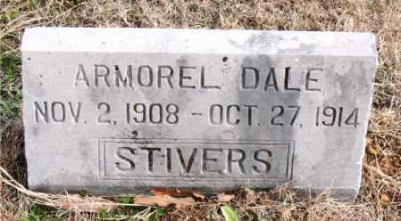 STIVERS, ARMOREL  DALE - Carroll County, Arkansas | ARMOREL  DALE STIVERS - Arkansas Gravestone Photos