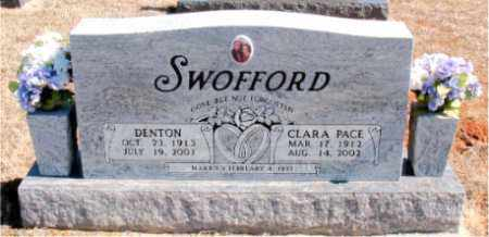 SWOFFORD, DENTON - Carroll County, Arkansas   DENTON SWOFFORD - Arkansas Gravestone Photos