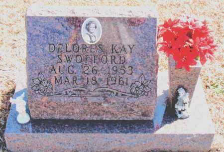 SWOFFORD, DELORES KAY - Carroll County, Arkansas   DELORES KAY SWOFFORD - Arkansas Gravestone Photos