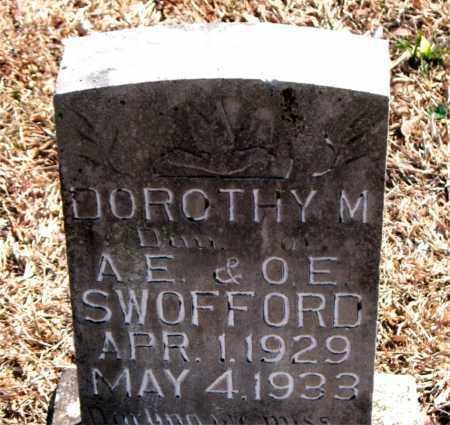 SWOFFORD, DOROTHY M. - Carroll County, Arkansas | DOROTHY M. SWOFFORD - Arkansas Gravestone Photos