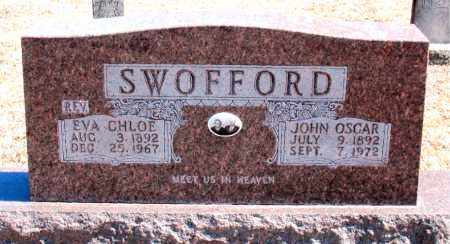 SWOFFORD, JOHN OSCAR - Carroll County, Arkansas | JOHN OSCAR SWOFFORD - Arkansas Gravestone Photos