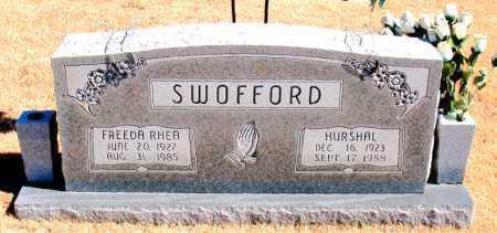 SWOFFORD, HURSHAL - Carroll County, Arkansas | HURSHAL SWOFFORD - Arkansas Gravestone Photos