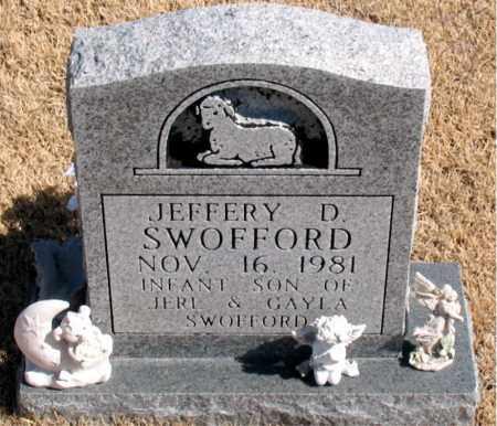 SWOFFORD, JEFFERY  D. - Carroll County, Arkansas   JEFFERY  D. SWOFFORD - Arkansas Gravestone Photos