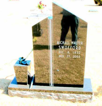 SWOFFORD, MICHAEL WALTER - Carroll County, Arkansas   MICHAEL WALTER SWOFFORD - Arkansas Gravestone Photos