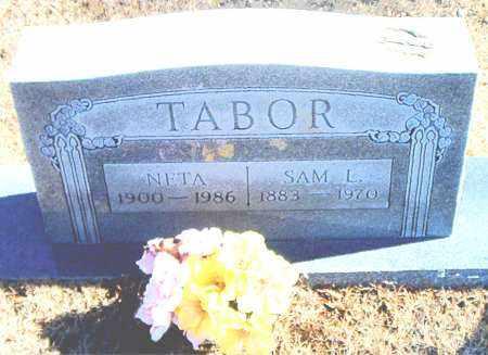 TABOR, NETA - Carroll County, Arkansas | NETA TABOR - Arkansas Gravestone Photos