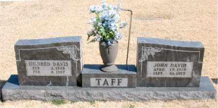 TAFF, JOHN DAVID - Carroll County, Arkansas | JOHN DAVID TAFF - Arkansas Gravestone Photos