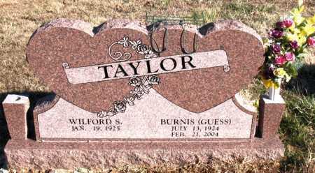 GUESS TAYLOR, BURNIS - Carroll County, Arkansas | BURNIS GUESS TAYLOR - Arkansas Gravestone Photos