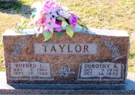 TAYLOR, DOROTHY  K. - Carroll County, Arkansas | DOROTHY  K. TAYLOR - Arkansas Gravestone Photos
