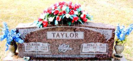 TAYLOR, CLAUDE L. - Carroll County, Arkansas | CLAUDE L. TAYLOR - Arkansas Gravestone Photos
