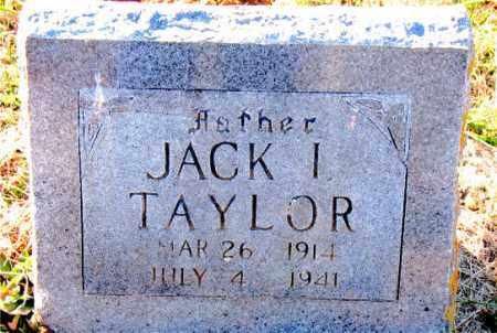 TAYLOR, JACK  I. - Carroll County, Arkansas   JACK  I. TAYLOR - Arkansas Gravestone Photos