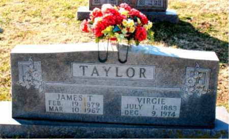 TAYLOR, VIRGIE - Carroll County, Arkansas | VIRGIE TAYLOR - Arkansas Gravestone Photos