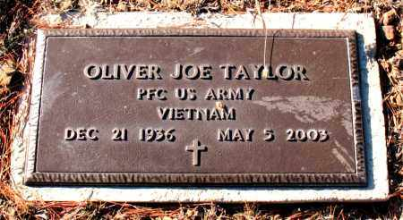 TAYLOR  (VETERAN VIET), OLIVER JOE - Carroll County, Arkansas   OLIVER JOE TAYLOR  (VETERAN VIET) - Arkansas Gravestone Photos