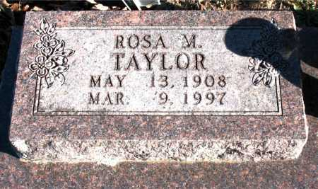 TAYLOR, ROSA M. - Carroll County, Arkansas   ROSA M. TAYLOR - Arkansas Gravestone Photos