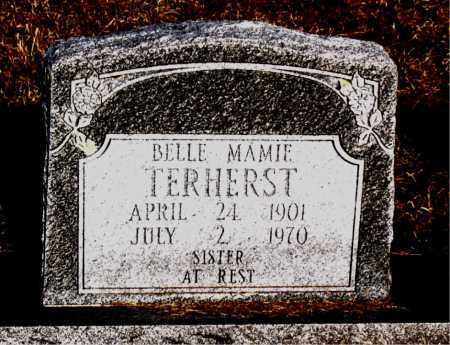 TERHERST, BELLE MAMIE - Carroll County, Arkansas | BELLE MAMIE TERHERST - Arkansas Gravestone Photos