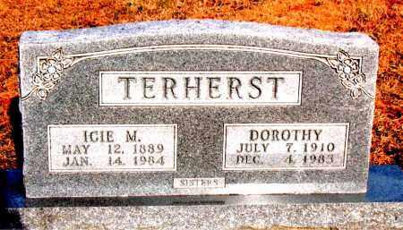 TERHERST, DOROTHY - Carroll County, Arkansas | DOROTHY TERHERST - Arkansas Gravestone Photos