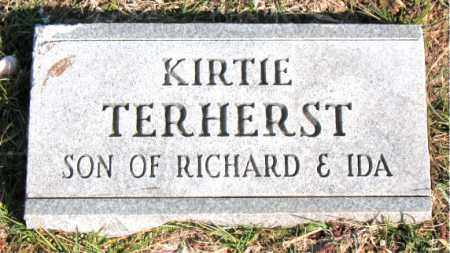 TERHERST, KIRTIE - Carroll County, Arkansas | KIRTIE TERHERST - Arkansas Gravestone Photos