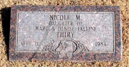 THIRY, NICOLE  M. - Carroll County, Arkansas | NICOLE  M. THIRY - Arkansas Gravestone Photos
