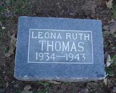 THOMAS, LEONA RUTH - Carroll County, Arkansas | LEONA RUTH THOMAS - Arkansas Gravestone Photos