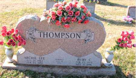 THOMPSON, ARCHIE  LEE - Carroll County, Arkansas | ARCHIE  LEE THOMPSON - Arkansas Gravestone Photos
