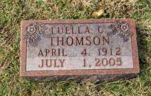 THOMPSON, LUELLA C - Carroll County, Arkansas | LUELLA C THOMPSON - Arkansas Gravestone Photos
