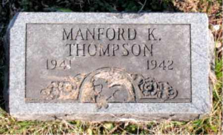 THOMPSON, MANFORD  K. - Carroll County, Arkansas | MANFORD  K. THOMPSON - Arkansas Gravestone Photos